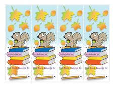 September Bookmark Printables & Template