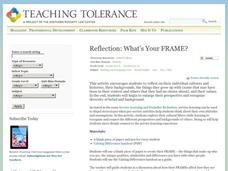 Reflection: What's Your FRAME? Activities & Project