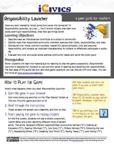 Responsibility Launcher Activities & Project