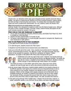 People's Pie Activities & Project