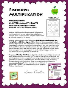 Fishbowl Multiplication Activities & Project