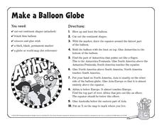 Make a Balloon Globe Activities & Project
