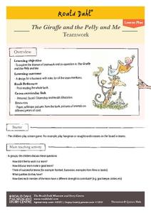 The Giraffe and the Pelly and Me Activities & Project