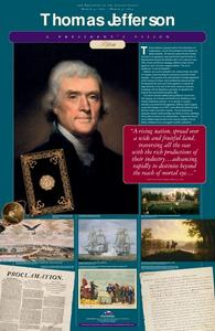 A President's Vision: Thomas Jefferson Activities & Project