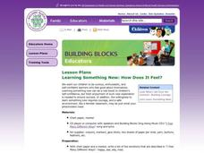 Learning Something New: How Does It Feel? Lesson Plan