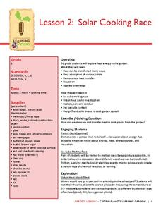 Solar Cooking Race Lesson Plan