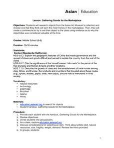 silk road art lesson plans worksheets reviewed by teachers. Black Bedroom Furniture Sets. Home Design Ideas
