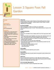 Square Foot Fall Garden Lesson Plan