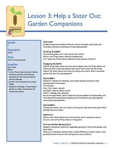 Help a Sister Out: Garden Companions Lesson Plan