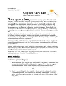 Original Fairytale Activities & Project