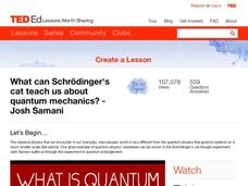 Quantum Physics Lesson Plans & Worksheets | Lesson Planet