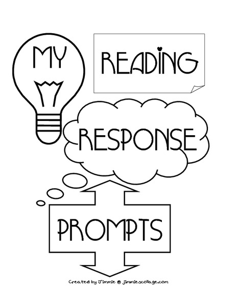 Reading Response Prompts Printables & Template for