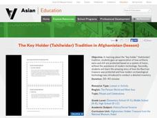 The Key Holder (Tahilwidar) Tradition in Afghanistan Activities & Project