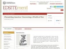 Chronicling America: Uncovering a World at War Lesson Plan