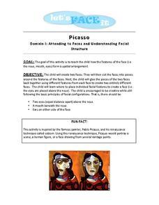 Let's Face It: Picasso Activities & Project
