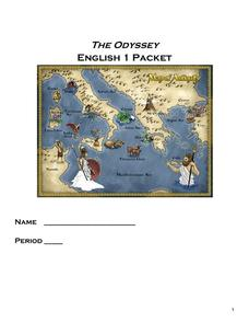 The Odyssey English 1 Packet Graphic Organizer