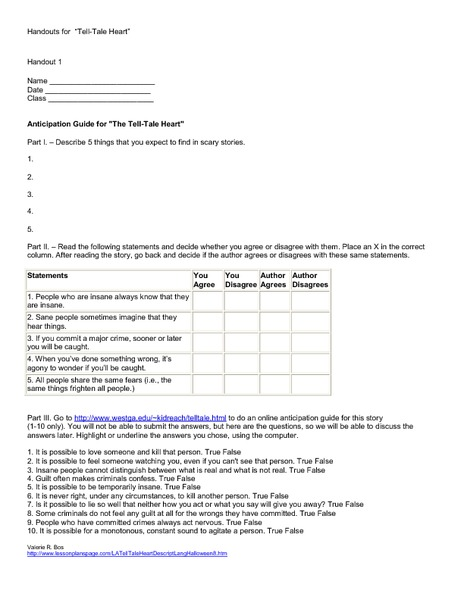 worksheet. Tell Tale Heart Worksheet. Grass Fedjp Worksheet Study Site