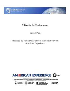 A Day for the Environment Lesson Plan