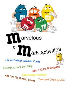 Marvelous Math Activities Activities & Project
