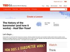 The History of the Barometer (and How It Works) Video