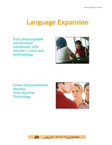 Language Expansion Handouts & Reference