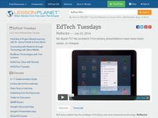 EdTech Tuesdays: Reflector Video