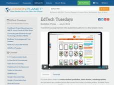 EdTech Tuesdays: Scribble Press Video