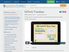 EdTech Tuesdays: Write About This Video