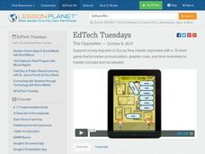 EdTech Tuesdays: The Opposites Video