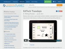 EdTech Tuesdays: A+ Writing Prompts Video