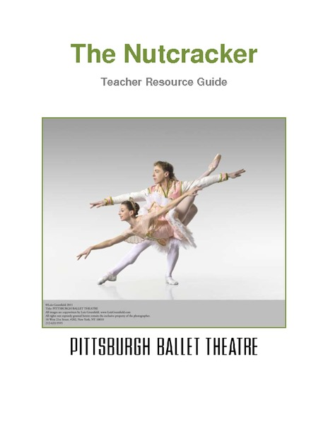 The Nutcracker Teacher Resource Guide Activities & Project