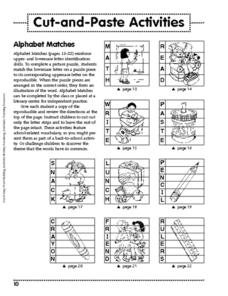 Cut-and-Paste Activities Worksheet