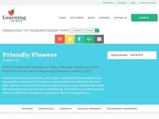 Friendly Flowers Lesson Plan