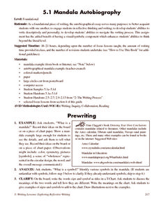 mandala autobiography th th grade worksheet lesson planet mandala autobiography worksheet