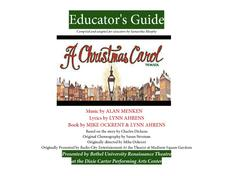 Educator's Guide: A Christmas Carol Activities & Project