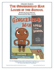 A Teacher's Guide to The Gingerbread Man Loose in the School Worksheet