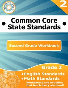 Common Core State Standards: Second Grade Workbook Graphic Organizer