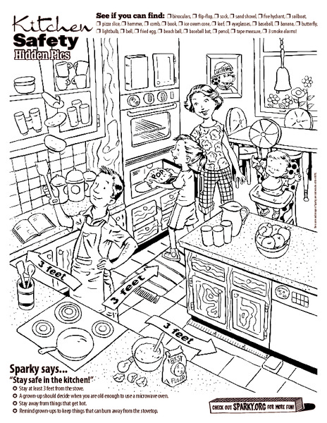 Kitchen Safety Lesson Plans Worksheets Reviewed By Teachers