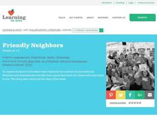 Friendly Neighbors Lesson Plan