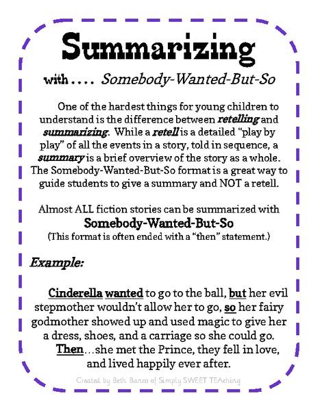 summarizing worksheets 2nd grade - Termolak