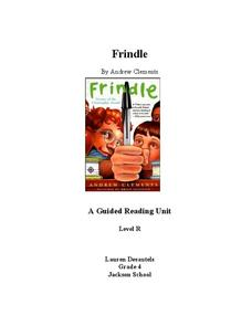 Frindle: A Guiding Reading Unit Unit