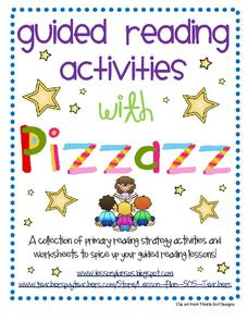 Guided Reading Activities with Pizzazz Activities & Project