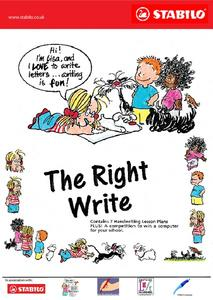 The Right Write Lesson Plan