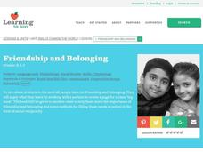 Friendship and Belonging Lesson Plan