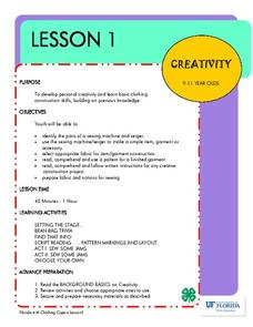 Clothing Capers Creativity Lesson Plan For 3rd 12th Grade Lesson Planet