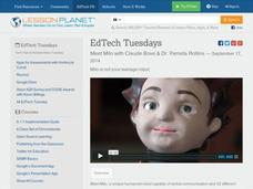EdTech Tuesdays: Meet Milo with Claude Bove & Dr. Pamela Rollins Video