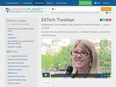 EdTech Tuesdays: Integrating Technology in the Classroom with Erin Klein Video