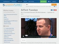 EdTech Tuesdays: Be a Connected Educator with Billy Krakower Video