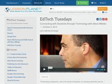 EdTech Tuesdays: Connecting with Students through Technology with Steve Miletto Video