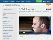 EdTech Tuesdays: Becoming a Lead Learner with Todd Nesloney Video